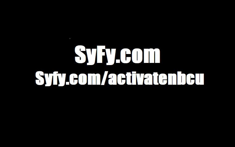 syfy.com/activate - syfy.com activate/activatenbcu on Roku, Apple TV