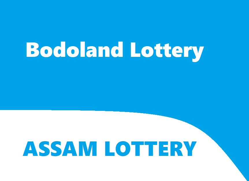 Bodoland Lottery Result Today - Assam Lottery